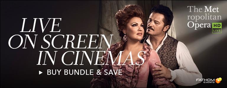 Series Banner for Met Opera 2018-19 Season