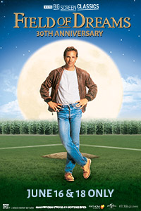 Field of Dreams 30th Anniversary (1989) presented by TCM Poster
