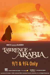 Lawrence of Arabia (1962) presented by TCM Poster