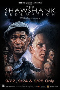 The Shawshank Redemption 25th Anniversary (1994) presented by TCM Poster