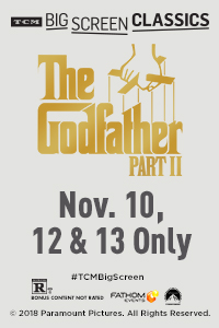 The Godfather: Part II 45th Anniversary (1974) presented by TCM Poster