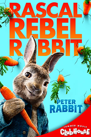 Movie Poster for Peter Rabbit - SMC