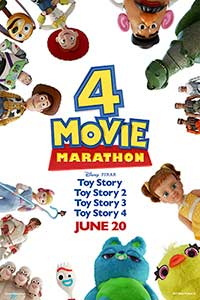 Toy Story 4 Movie Marathon Poster