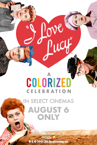 I Love Lucy: A Colorized Celebration Poster