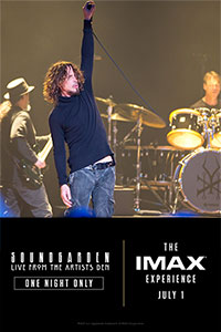 Soundgarden – Live from the Artists Den: The IMAX Experience Poster