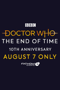 Doctor Who: The End of Time 10th Anniversary Poster