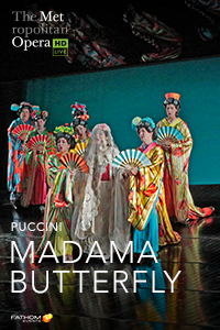 Met Opera: Madama Butterfly Poster