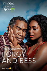 Met Opera: Porgy and Bess Poster