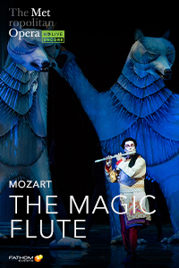 Met Opera: The Magic Flute Holiday Encore Poster