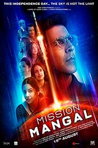 Mission Mangal (Hindi with English subtitles) Poster
