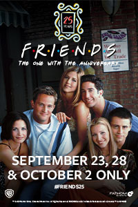 Friends 25th: The One With The Anniversary - Night One Poster