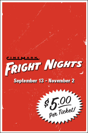 Series Banner for Universal Cinemark at CityWalk Fright Nights
