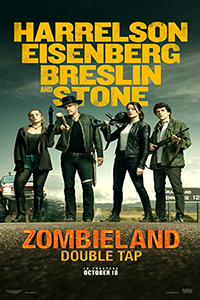 Double Feature - Zombieland:  Double Tap  Poster