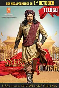 Sye Raa Narasimha Reddy (Telugu with English subtitles) Poster