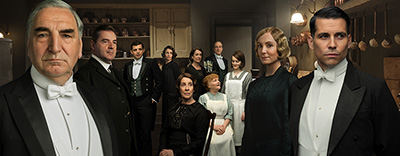 Meet the cast of DOWNTON ABBEY