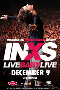INXS: Live Baby Live at Wembley Stadium Poster