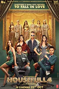 Housefull 4 (Hindi with English subtitles) Poster