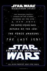 Star Wars: The Rise of Skywalker Marathon Poster