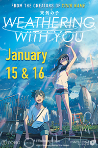 Weathering With You Fan Preview Screening (English Dubbed) Poster