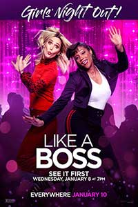 Like A Boss Girl's Night Out Poster
