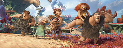 Go Back to Prehistory With the Croods