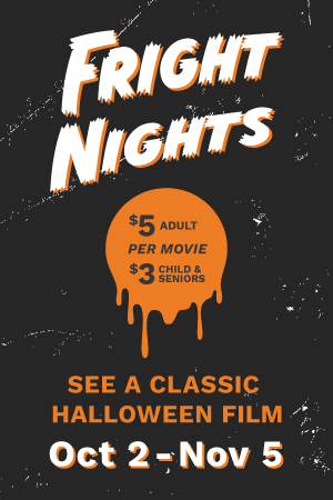 Series Banner for Cinemark Fright Nights