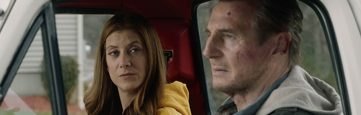 Exclusive Interview: Honest Thief Stars Liam Neeson and Kate WalshheroImage