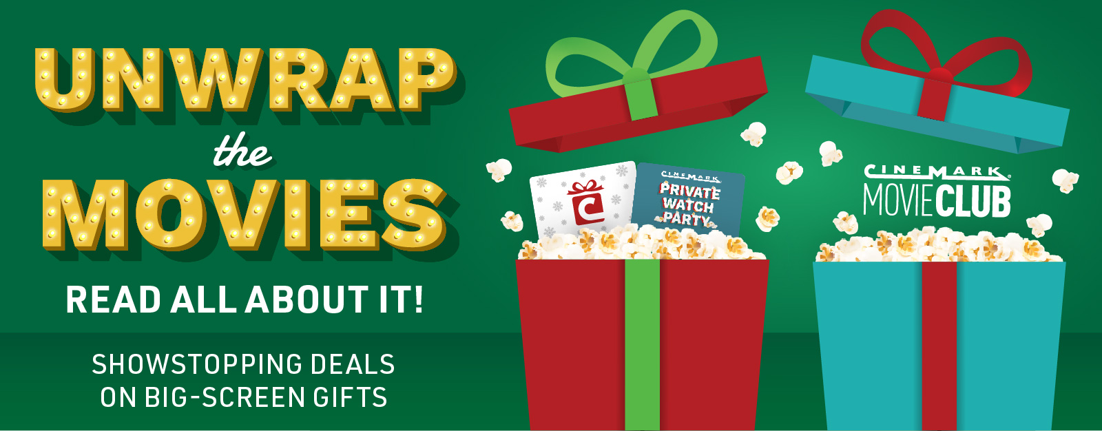 Give the Gift of Movies With Cinemark!
