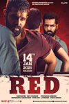 Red (Telugu with English subtitles) Poster