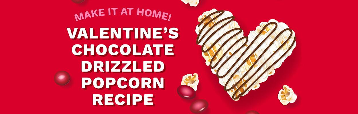 Make Chocolate-Drizzled Popcorn for Valentine's DayheroImage
