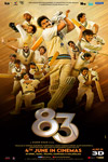 83 (Hindi with English subtitles) Poster