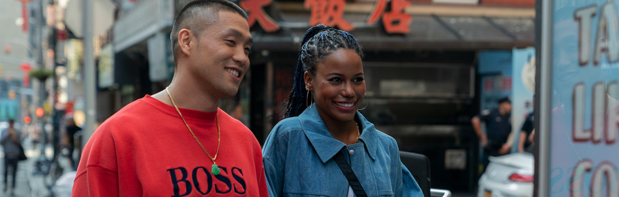 Exclusive Interview: Taylor Takahashi, Taylour Paige, and Eddie Huang of BoogieheroImage