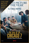The Trial of the Chicago 7 - Oscar Movie Week Poster