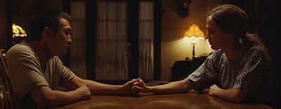 Alicia Vikander and Justin Chon on Blue Bayou