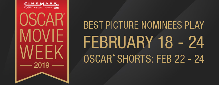 Series Banner for Oscar Movie Week 2019