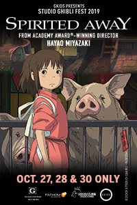 Spirited Away (English Dubbed) - Studio Ghibli Fest 2019 Poster
