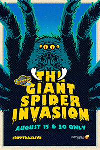 RiffTrax Live: The Giant Spider Invasion Poster