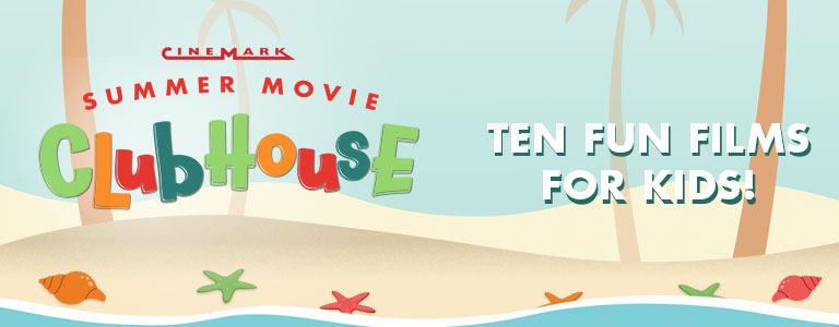Series Banner for Summer Movie Clubhouse 2019