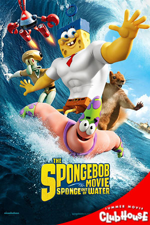 Movie Poster for The SpongeBob Movie: Sponge Out of Water - SMC