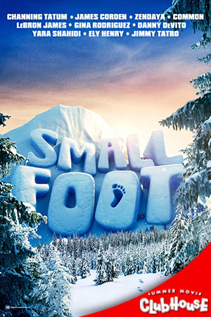 Movie Poster for Smallfoot - SMC