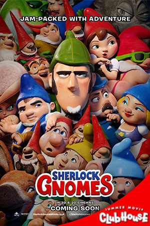 Movie Poster for Sherlock Gnomes- SMC