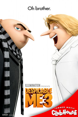 Movie Poster for Despicable Me 3 - SMC