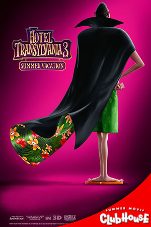 Movie Poster for Hotel Transylvania 3: Summer Vacation - SMC