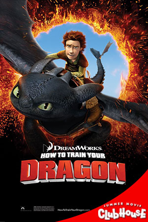 Movie Poster for How to Train Your Dragon - SMC